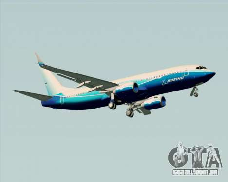 Boeing 737-800 House Colors para GTA San Andreas vista direita