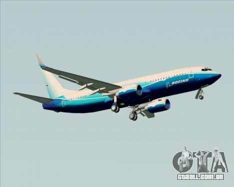 Boeing 737-800 House Colors para GTA San Andreas vista direita