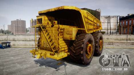 Mining Truck para GTA 4