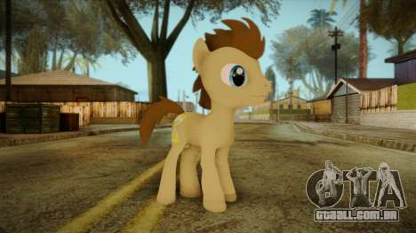 Doctor Whooves from My Little Pony para GTA San Andreas
