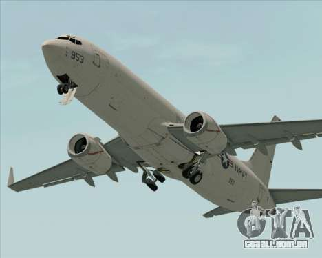 Boeing P-8 Poseidon US Navy para o motor de GTA San Andreas