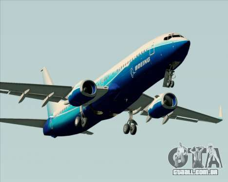 Boeing 737-800 House Colors para o motor de GTA San Andreas
