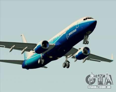 Boeing 737-800 House Colors para o motor de GTA San Andreas
