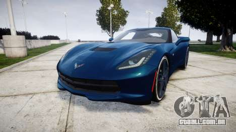 Chevrolet Corvette C7 Stingray 2014 v2.0 TirePi1 para GTA 4