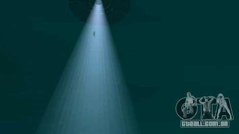 UFO sobre San Andreas para GTA San Andreas nono tela