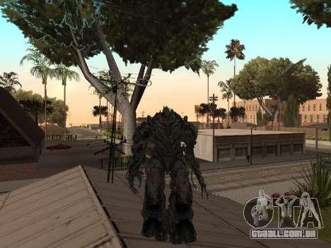 Transformers 3 Dark of the Moon Skin Pack para GTA San Andreas sexta tela
