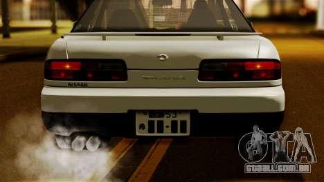Nissan Silvia S13 1992 IVF para GTA San Andreas vista direita