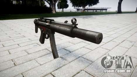 Arma MP5SD RO CS para GTA 4