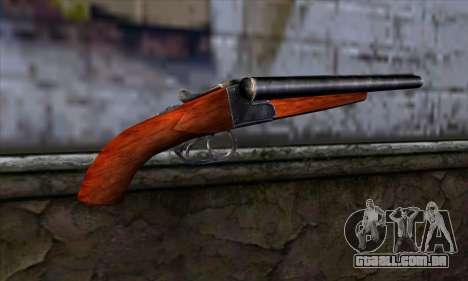 Sawnoff Shotgun para GTA San Andreas segunda tela