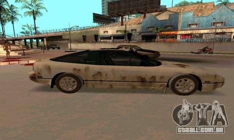 Nissan 240SX Rusted para GTA San Andreas esquerda vista