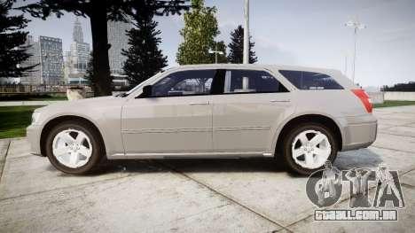 Dodge Magnum 2004 [ELS] Liberty County Sheriff para GTA 4 esquerda vista
