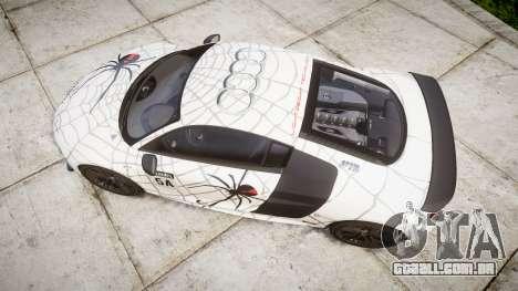 Audi R8 LMX 2015 [EPM] Cobweb para GTA 4 vista direita