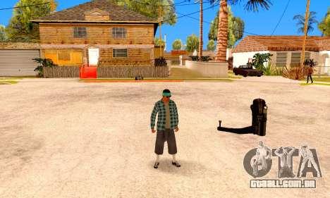 Varios Los Aztecas para GTA San Andreas quinto tela