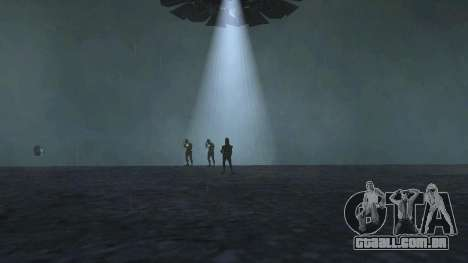 UFO sobre San Andreas para GTA San Andreas quinto tela