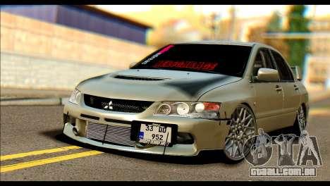 Mitsubishi Lancer Evolution IX JDM para GTA San Andreas