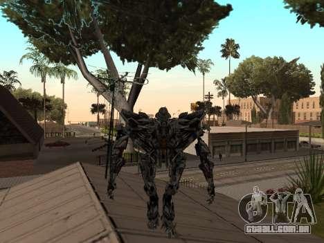 Transformers 3 Dark of the Moon Skin Pack para GTA San Andreas sétima tela