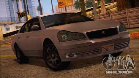 GTA 5 Intruder para GTA San Andreas