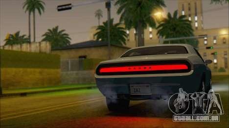 Dodge Challenger Concept para GTA San Andreas esquerda vista