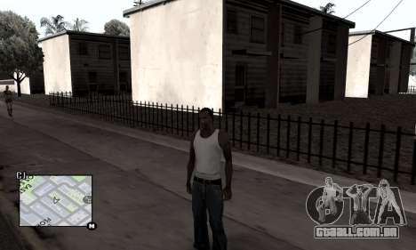 Winter Colormod para GTA San Andreas terceira tela