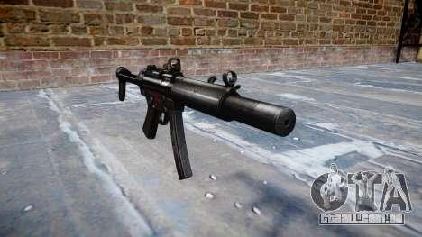 Arma MP5SD DRS FS b-alvo para GTA 4