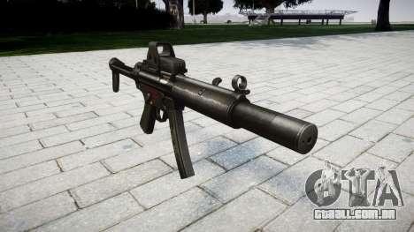 Arma MP5SD EOTHS FS para GTA 4