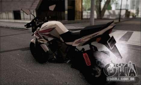 Honda Verza 150 para GTA San Andreas esquerda vista
