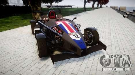 Ariel Atom V8 2010 [RIV] v1.1 S&A para GTA 4