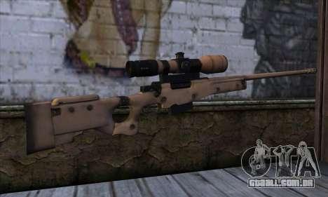 L11A3 Sniper Rifle para GTA San Andreas segunda tela