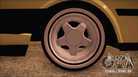 Tofas Sahin [RC] para GTA San Andreas traseira esquerda vista