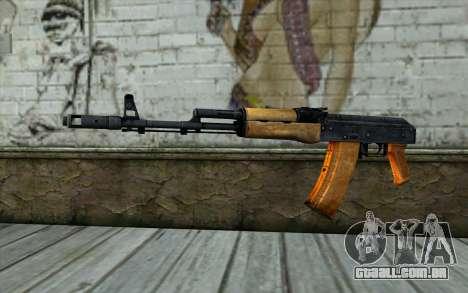 AKC74 Sem Bunda para GTA San Andreas