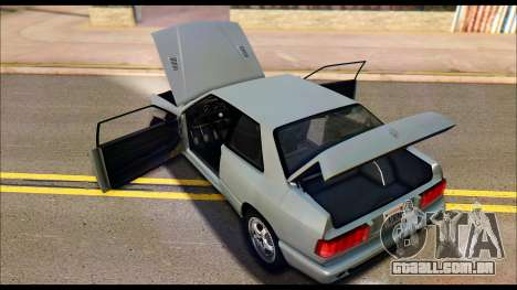 Maserati Ghibli II Cup (AM336) 1995 para GTA San Andreas vista traseira