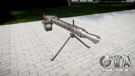 Alemão MG3 metralhadora icon3 para GTA 4