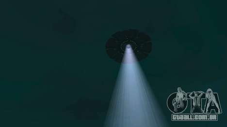 UFO sobre San Andreas para GTA San Andreas décimo tela