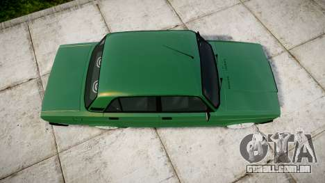 VAZ-2107 inferior para GTA 4 vista direita
