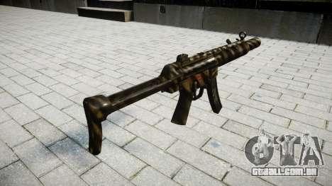 Arma MP5SD NA FS para GTA 4 segundo screenshot