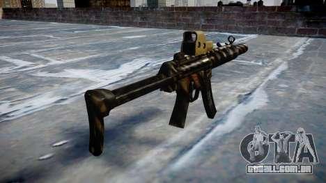 Arma MP5SD EOTHS FS c-alvo para GTA 4 segundo screenshot