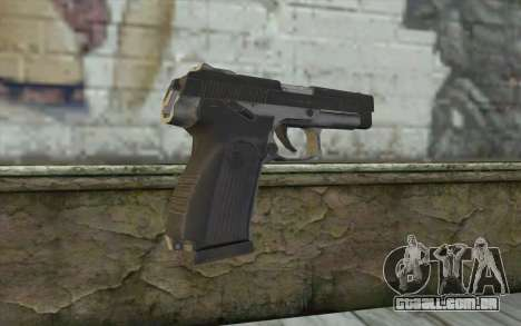 MP443 from COD: Ghosts para GTA San Andreas segunda tela