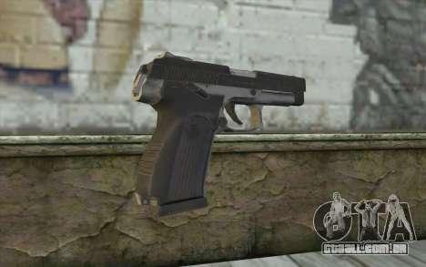 MP443 from COD: Ghosts para GTA San Andreas segunda tela