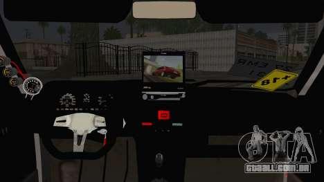Tofas Dogan SLX para GTA San Andreas traseira esquerda vista