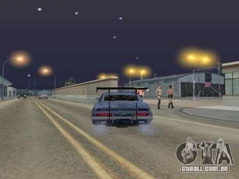 Chevrolet Camaro SS RedBull para GTA San Andreas traseira esquerda vista