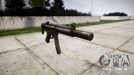 Alemão submetralhadora HK MP5SD3 para GTA 4