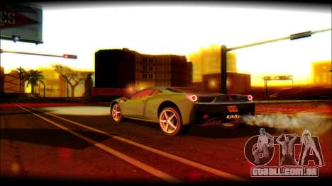 DayLight ENB for Medium PC para GTA San Andreas por diante tela