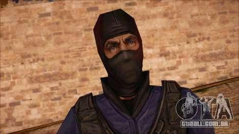 GIGN from Counter Strike Condition Zero para GTA San Andreas terceira tela