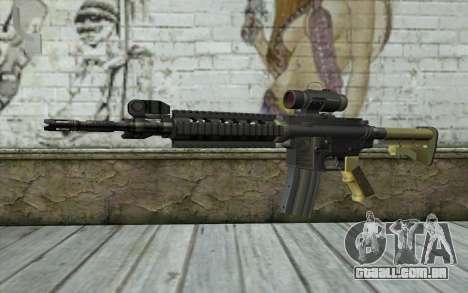 M4 MGS Iron Sight v2 para GTA San Andreas