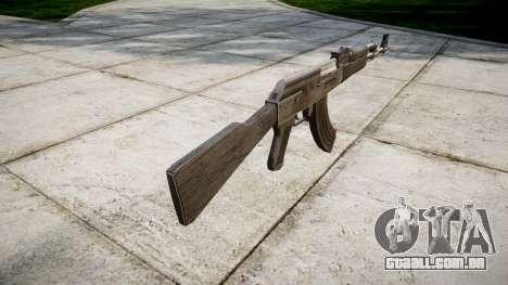 A AK-47 Cinza para GTA 4 segundo screenshot