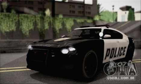 Bravado Buffalo S Police Edition (HQLM) para GTA San Andreas