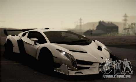 Lamborghini Veneno LP750-4 White Black 2014 para GTA San Andreas