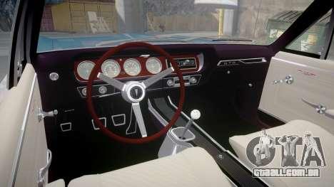 Pontiac GTO 1965 Sharpie para GTA 4 vista de volta