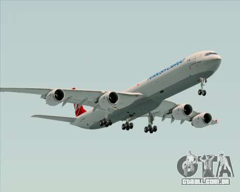 Airbus A340-600 Turkish Cargo para o motor de GTA San Andreas