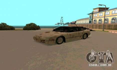 Nissan 240SX Rusted para GTA San Andreas